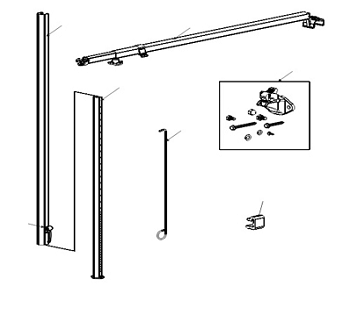 A&E 9100 Power Awning Hardware